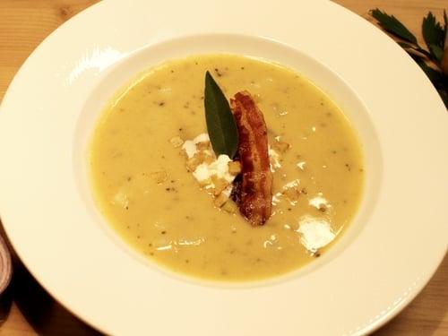 Zuppa di patate del Lungau