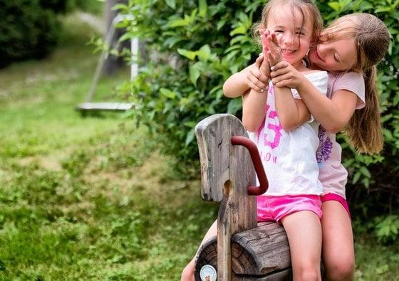 Familienvergnügen im Sommer