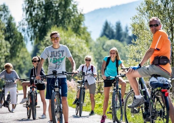 Vacanze in bici all'Eggerwirt