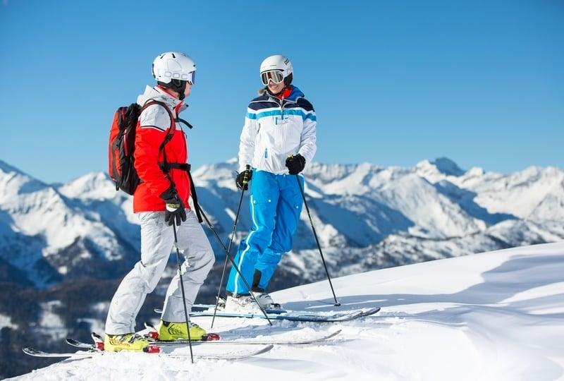 Boundless Skiing Fun