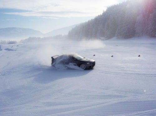 Winterfahrtraining im Lungau