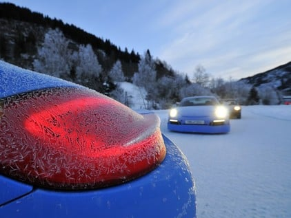 Winter driving training in Lungau