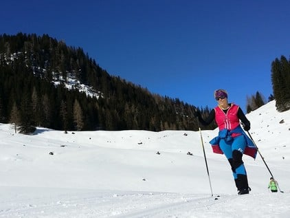 Cross country skiing in Lungau
