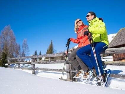 Escursioni invernali con le ciaspole nel Lungau