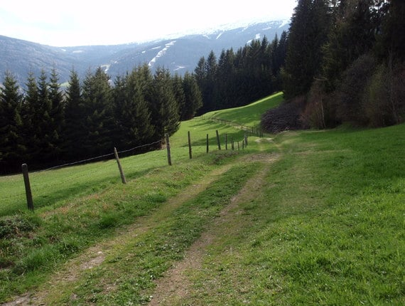 Mountain Bike - Aineck Route