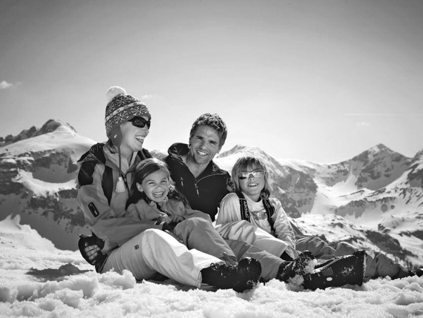 Familienurlaub Winter