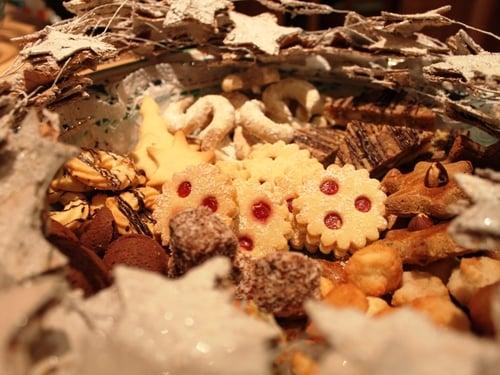 Linzeraugen mit hausgemachter Marmelade vom Trausner
