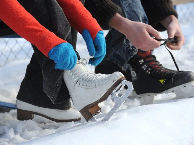 Neuer Eislaufplatz eröffnet