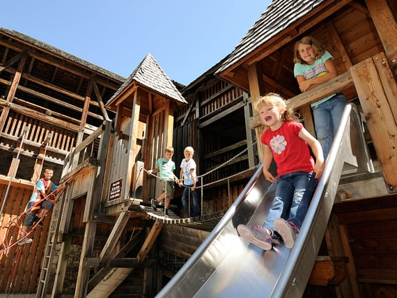 Zeitreise auf Burg Mauterndorf