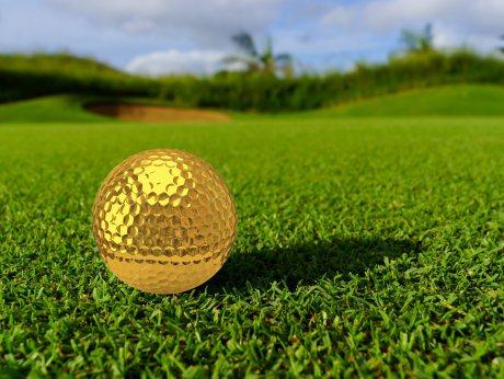Spiel um den Goldenen Golfball